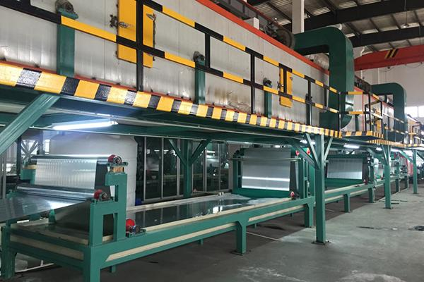 Aluminum Coil Coating Line Metallic Coating Line