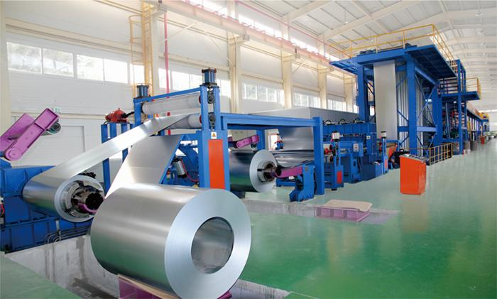Steel Coil Coating Line Color Coating Line Manufacturer